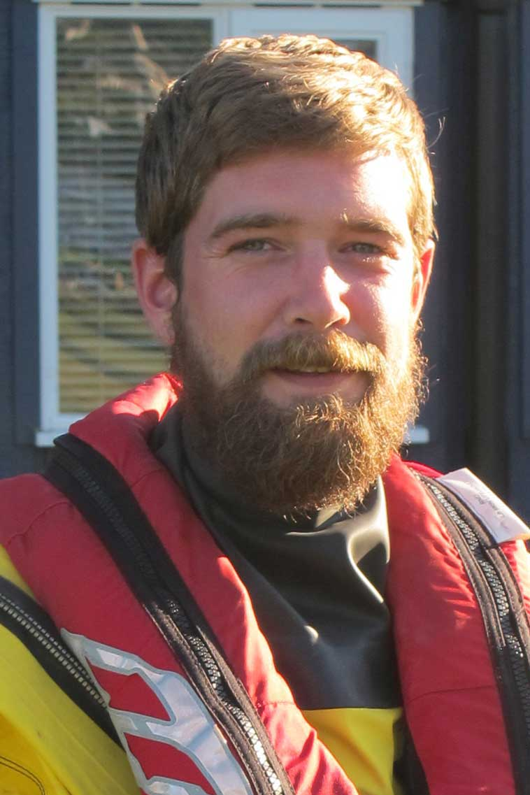 Aaron Spicer, Operations Team, RNLI Dart
