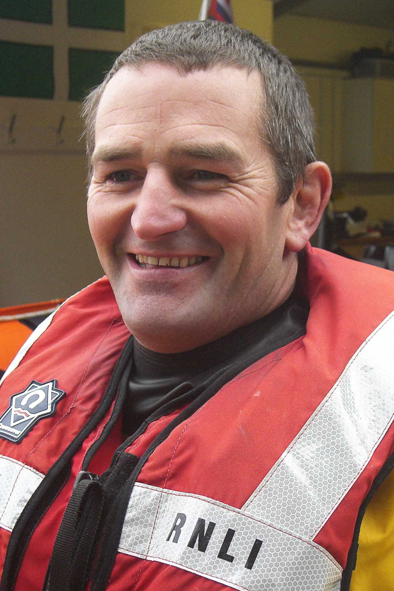 Buster Hart, Operations Team, RNLI Dart