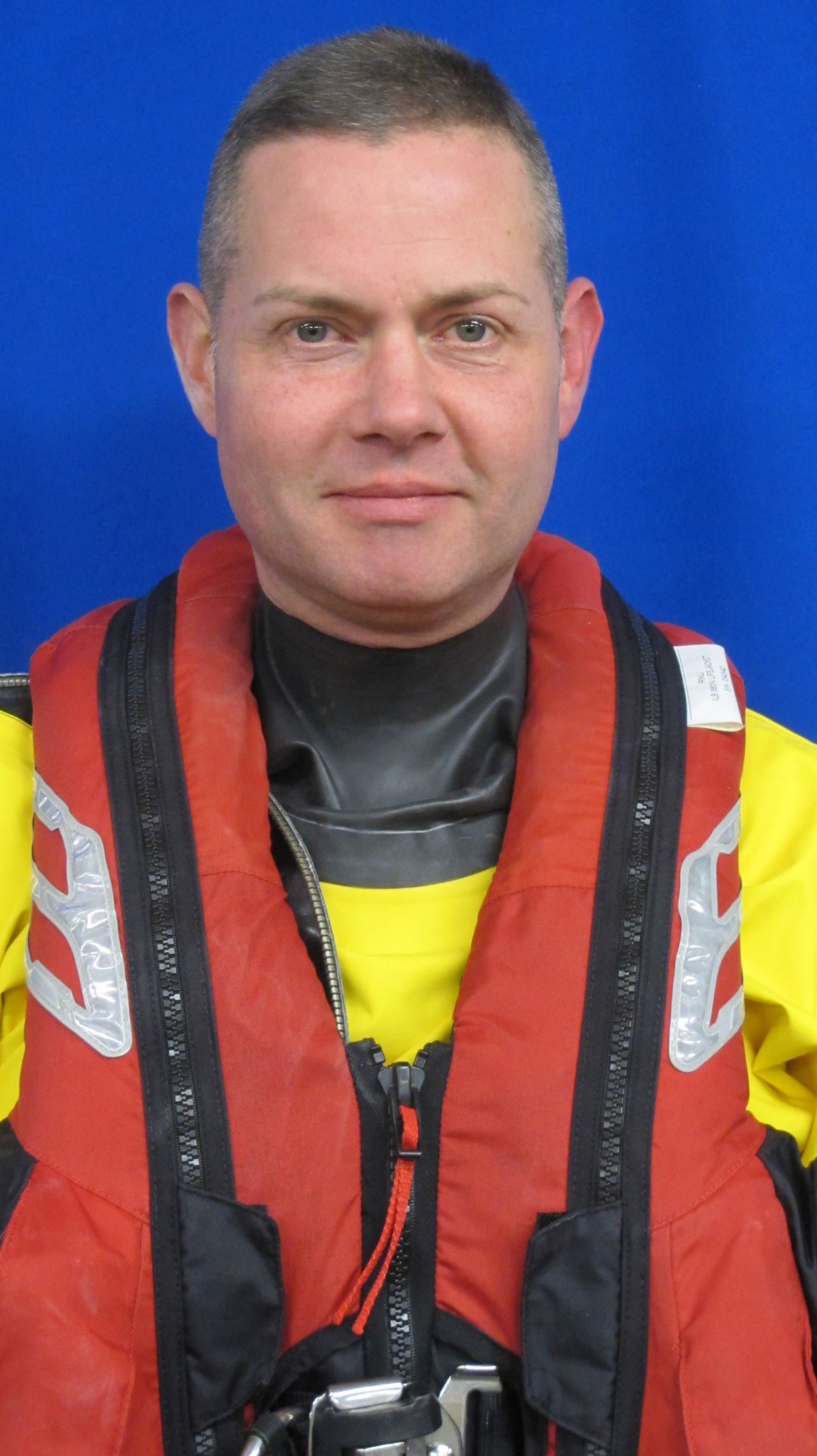 Caleb Brown. Operations team. RNLI Dart