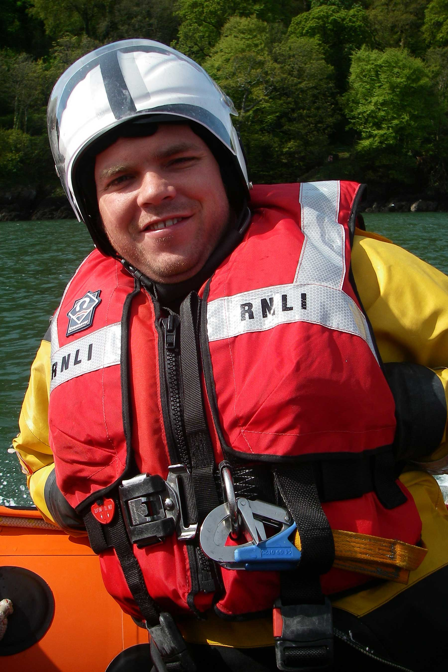 Chris Tracey, Operations Team, RNLI Dart