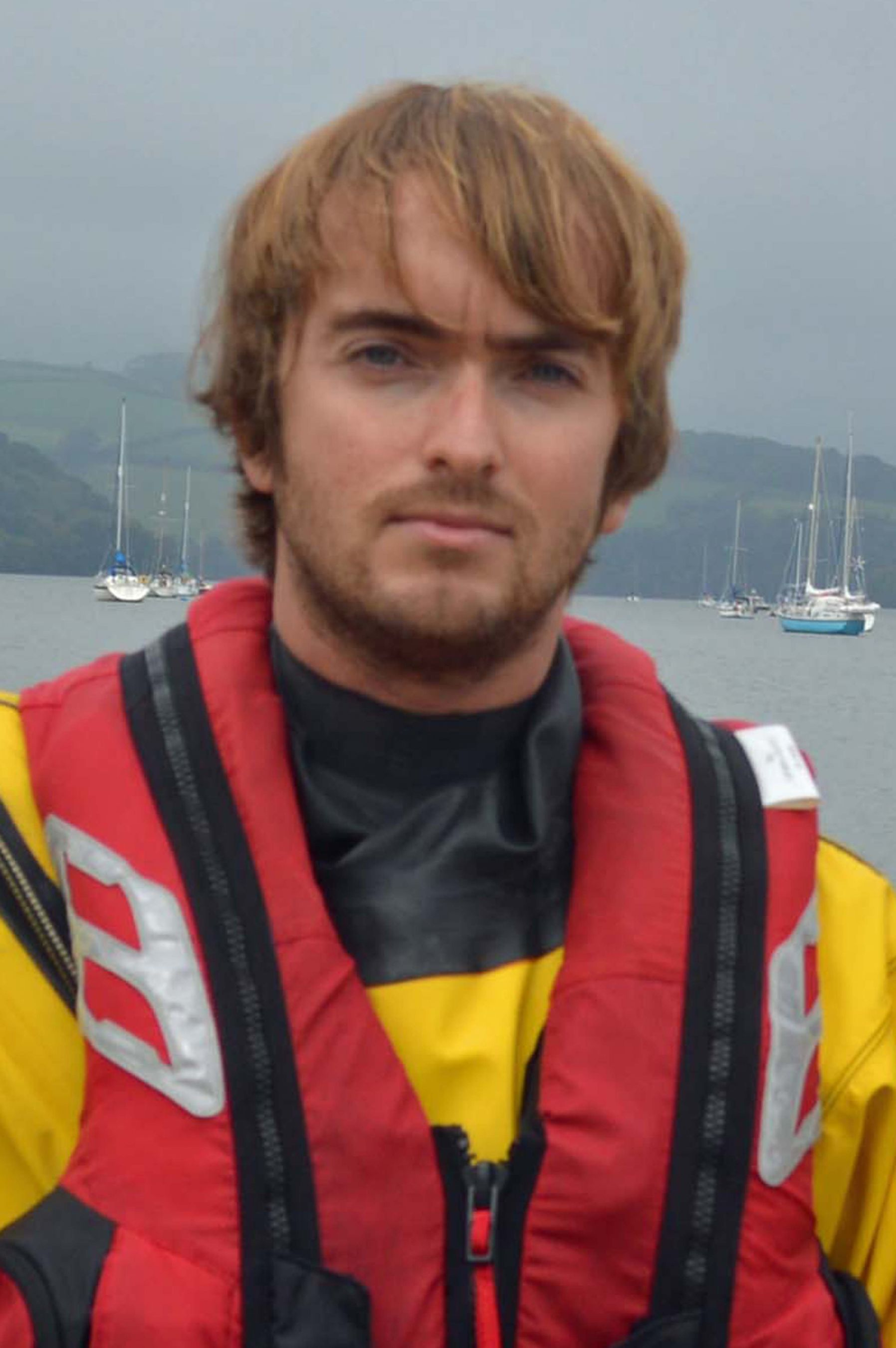 Chris Rampling. Operations team. RNLI Dart