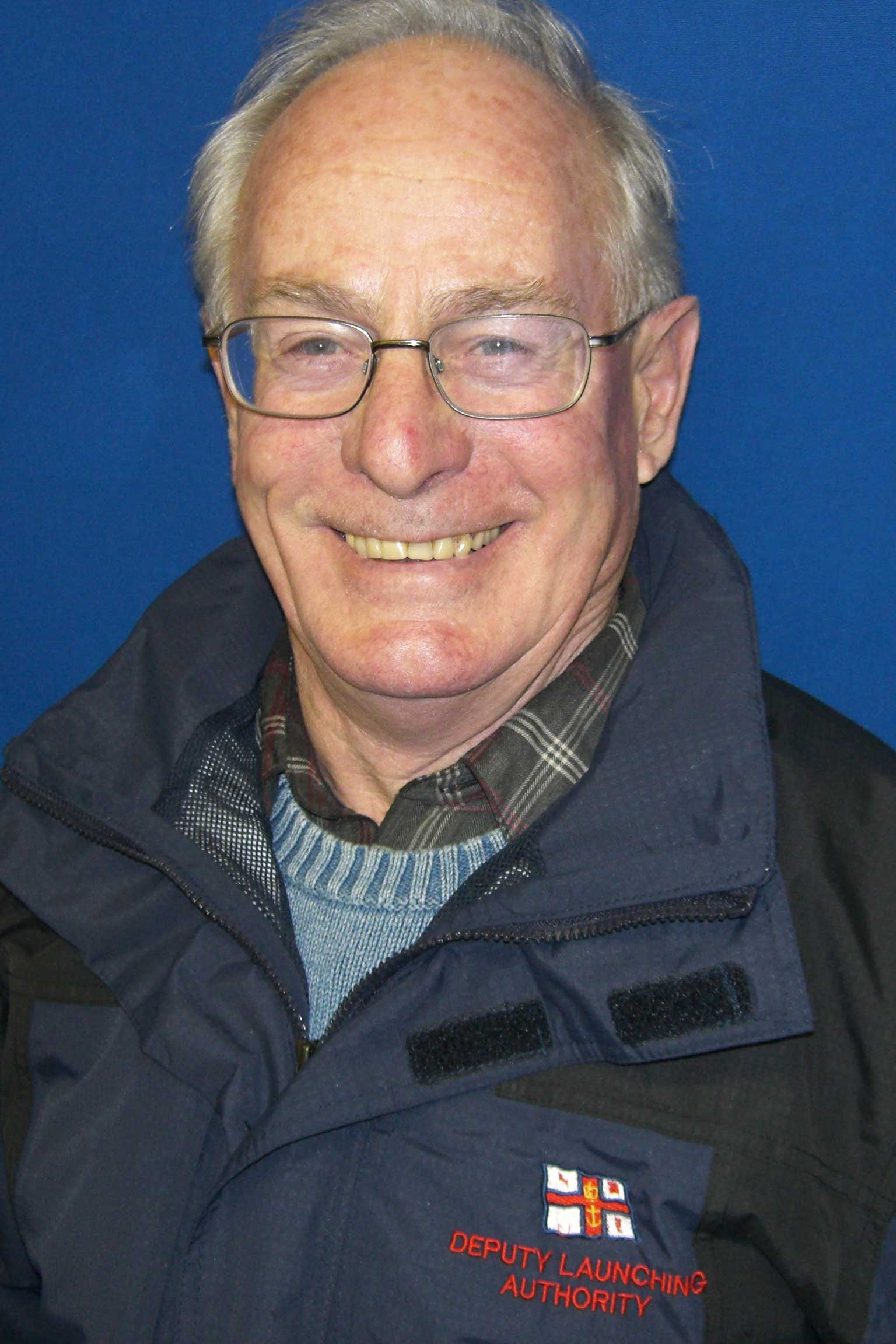 Don Campbell, Operations Team, RNLI Dart