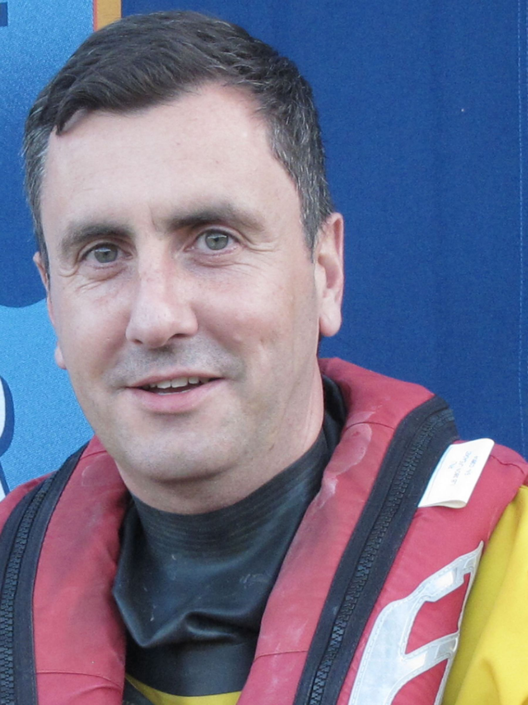 Jamie Mathys. Operations team. RNLI Dart.