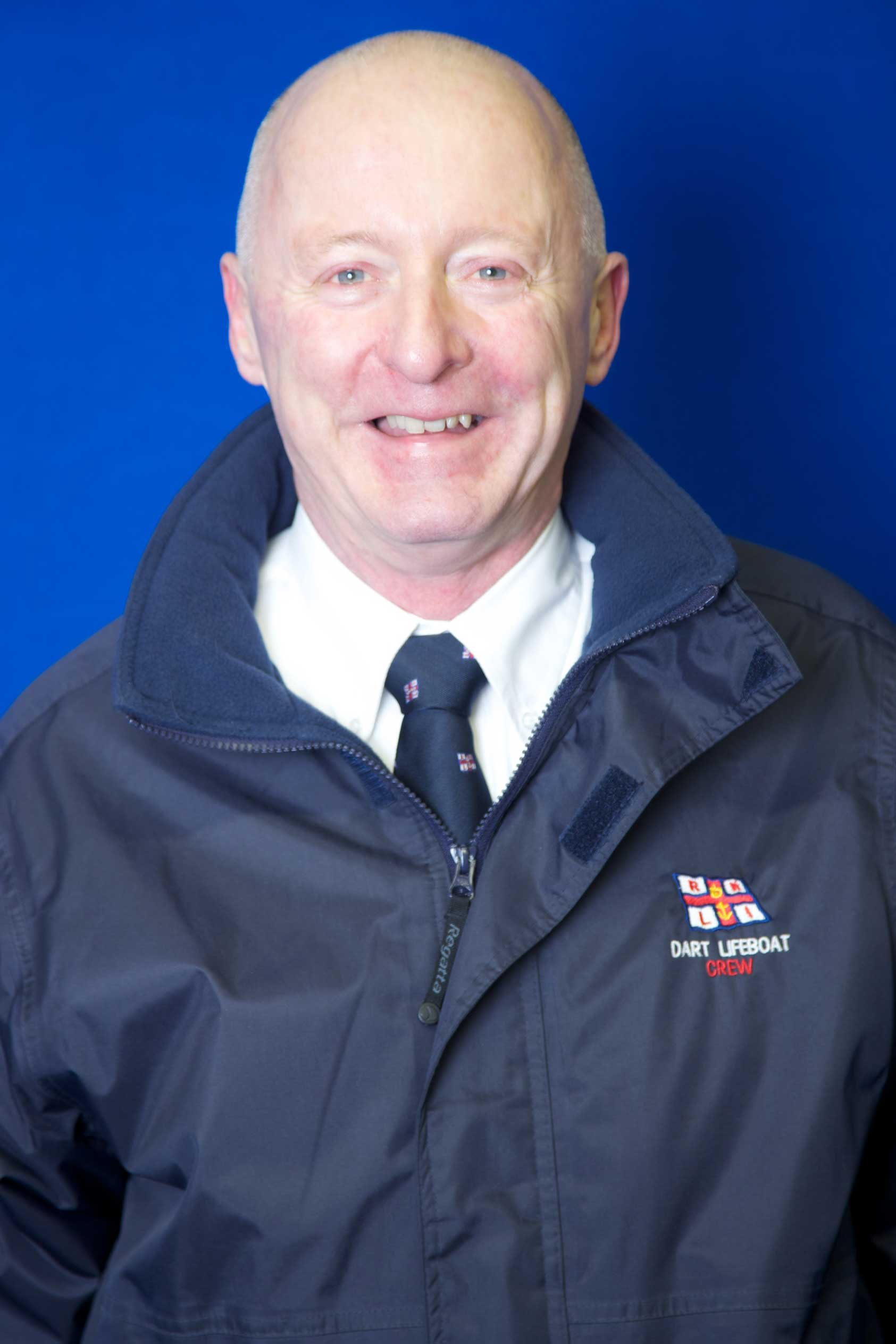 Jerry Gilby, Operations Team, RNLI Dart