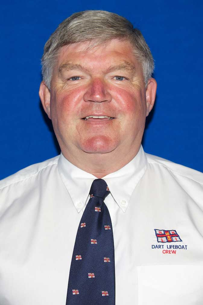 Jim Brent, Operations Team, RNLI Dart
