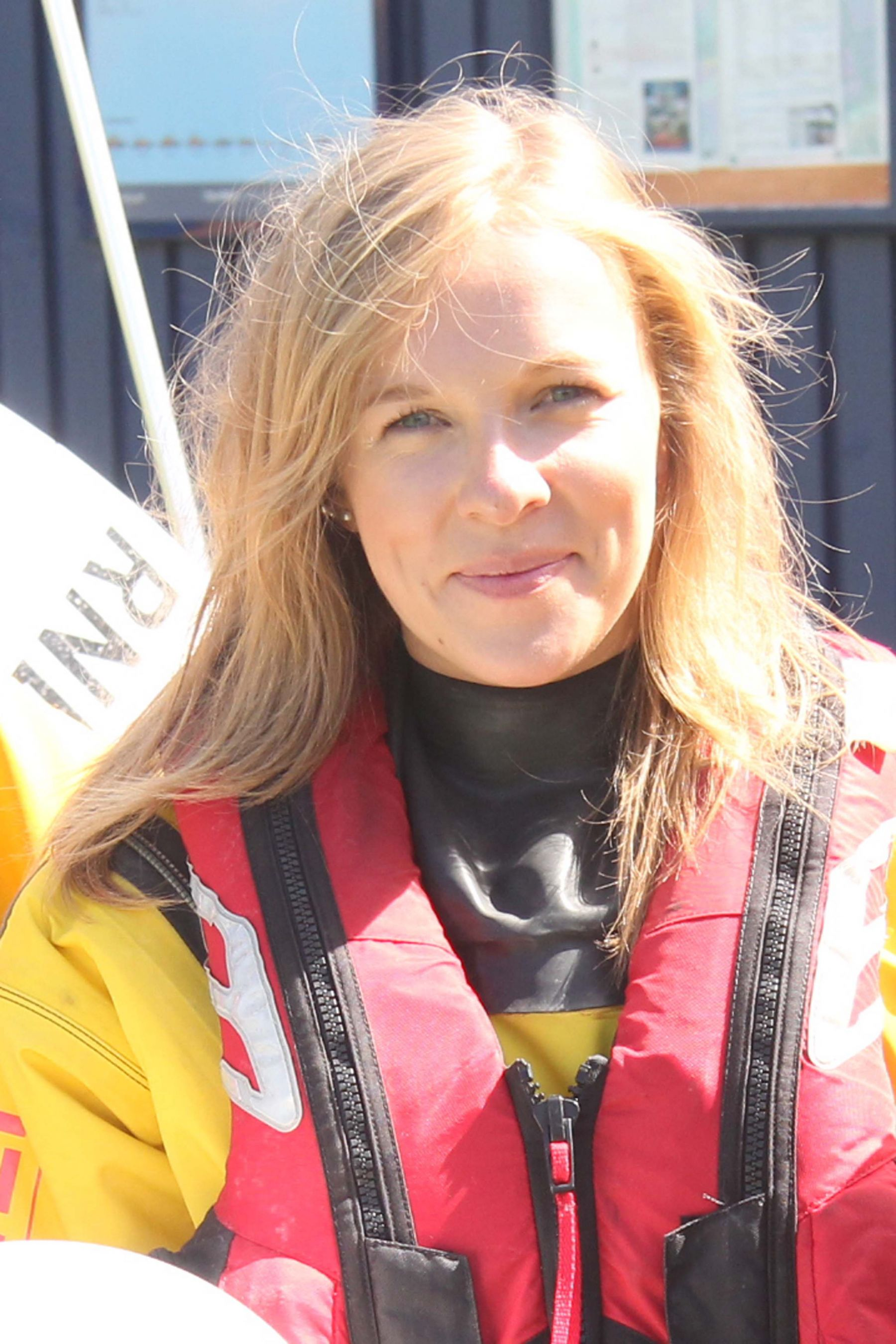 Katy Locke. Operations team. RNLI Dart