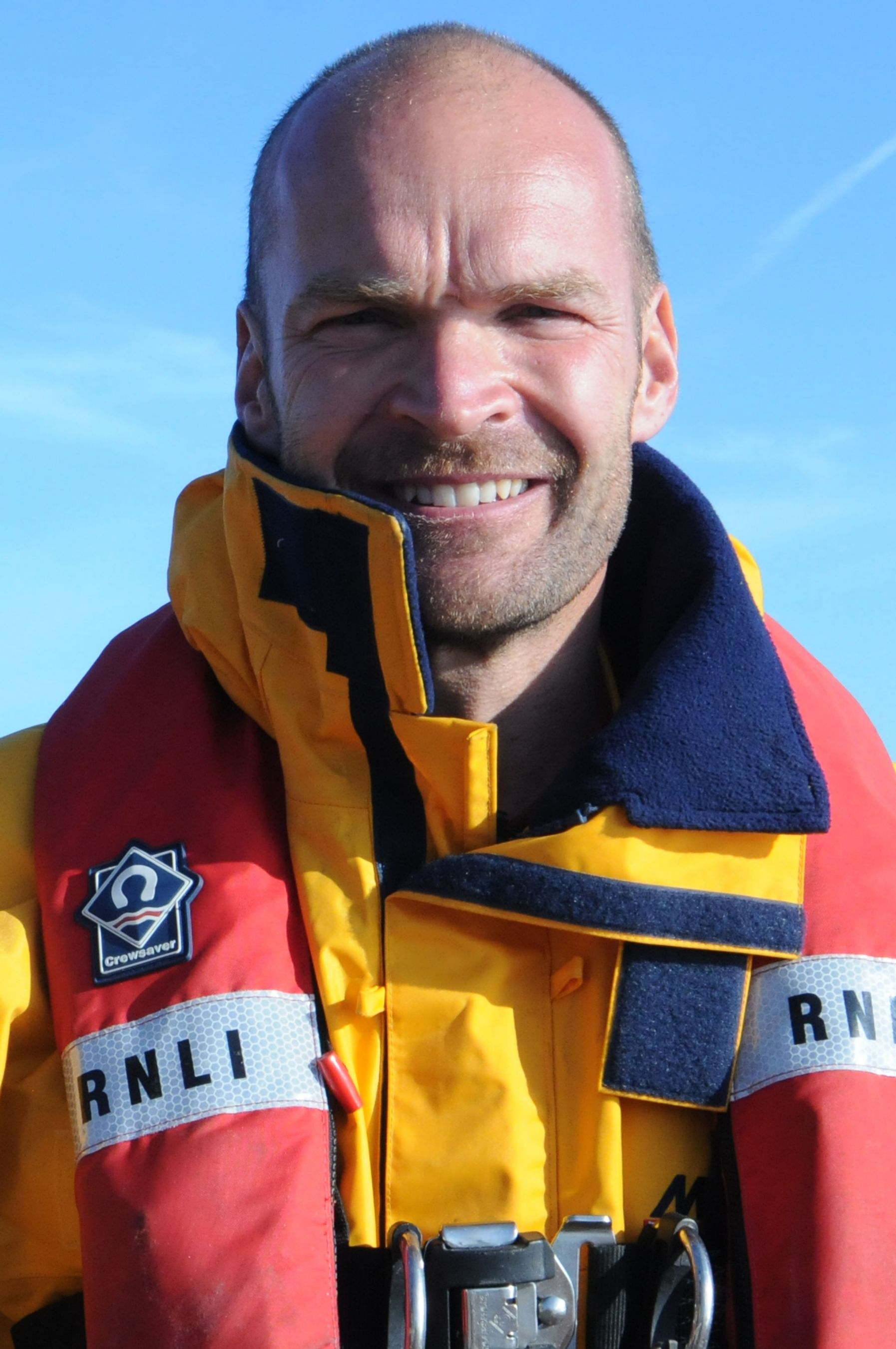Monty Halls. Operations team. RNLI Dart