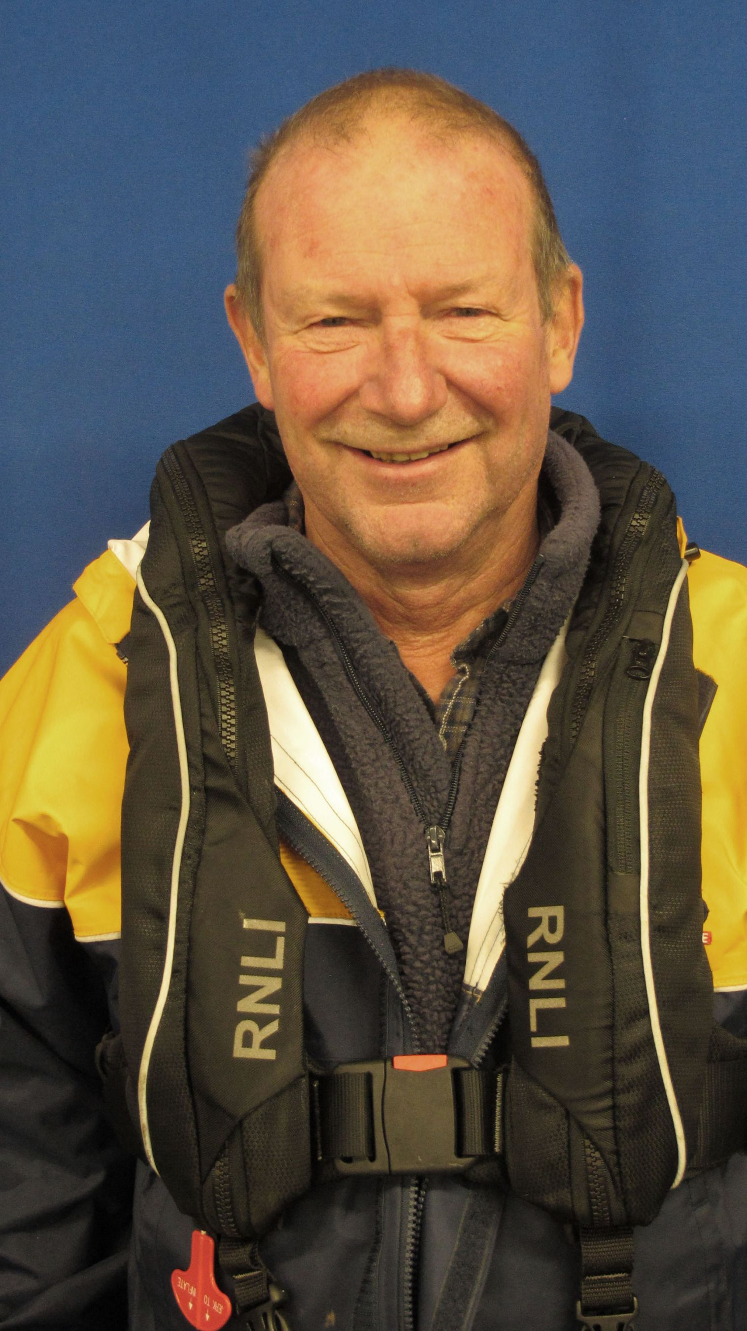 Pete Callis. Operations team. RNLI Dart.