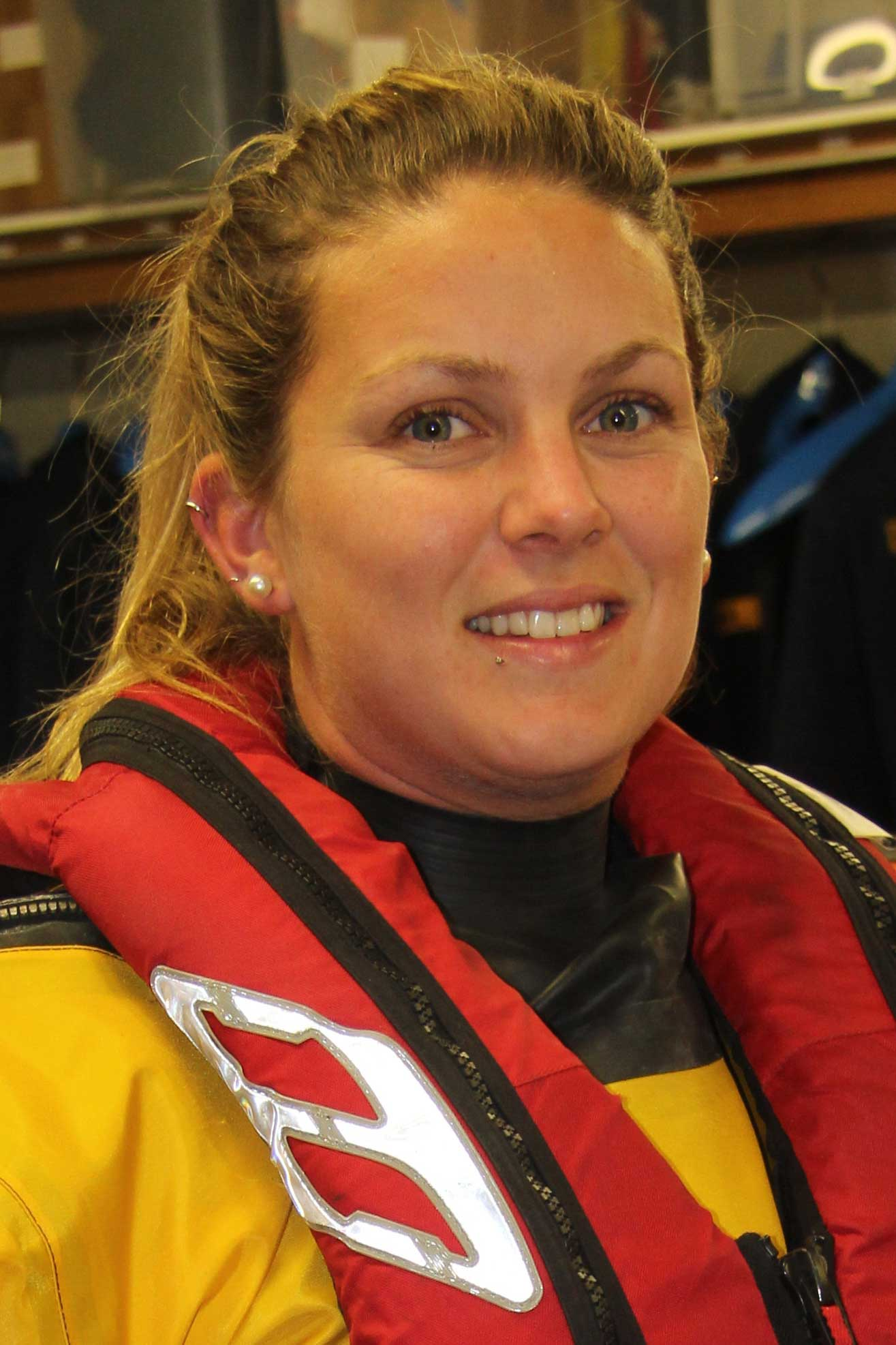 Rachel Cole, Operations Team, RNLI Dart