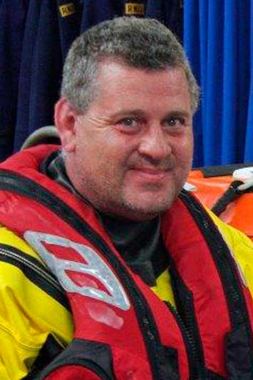 Simon Amphlett, Operations Team, RNLI Dart