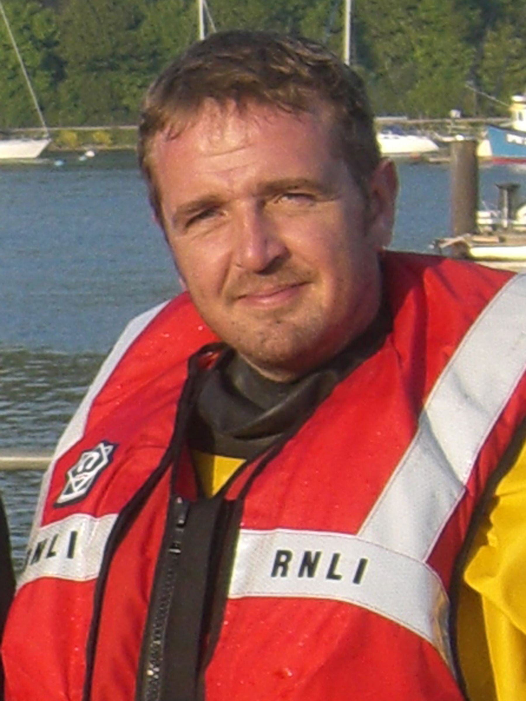 Squiff Howitt. Operations Team. RNLI Dart