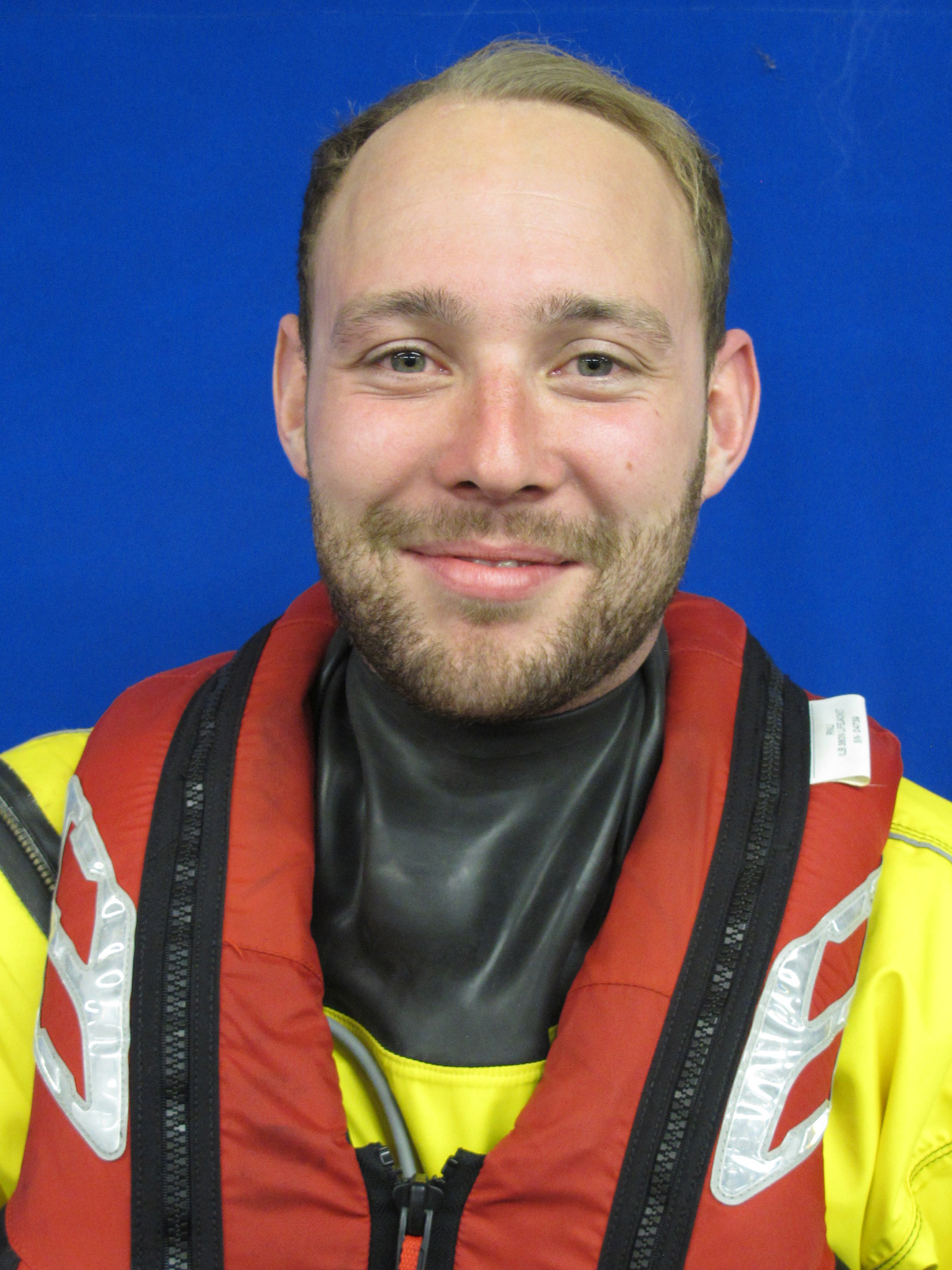 Tom Shanley. Operations team. RNLI Dart