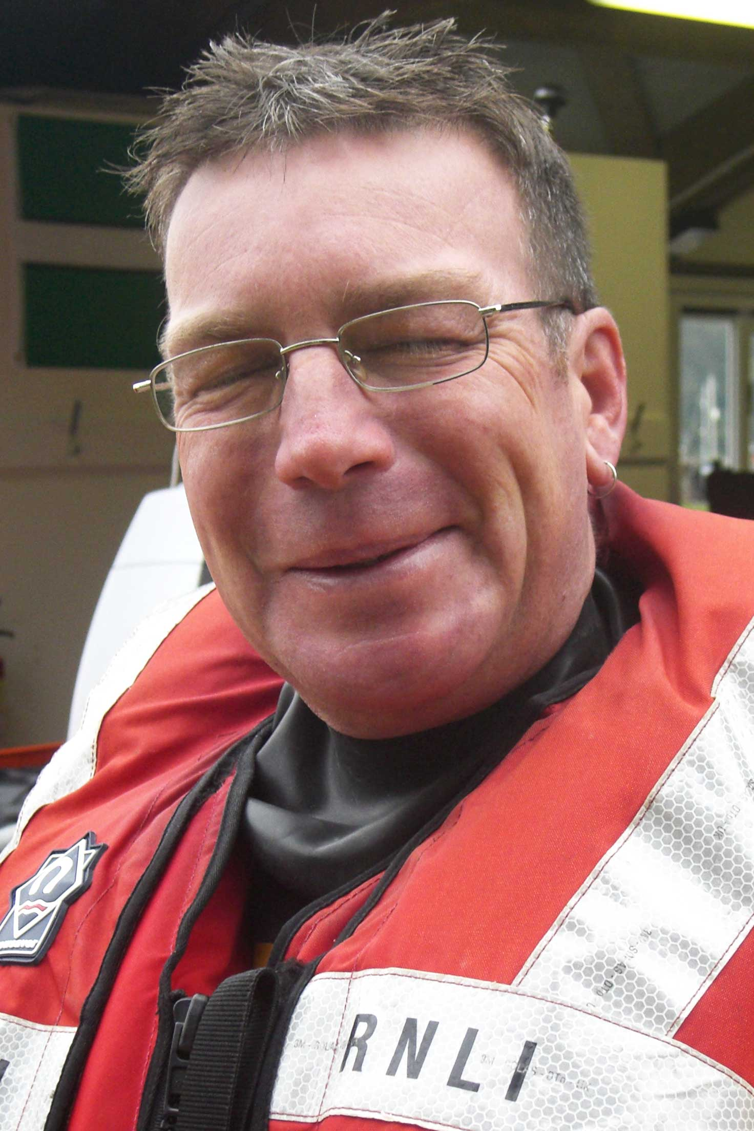 Tony Chapman, Operations Team, RNLI Dart