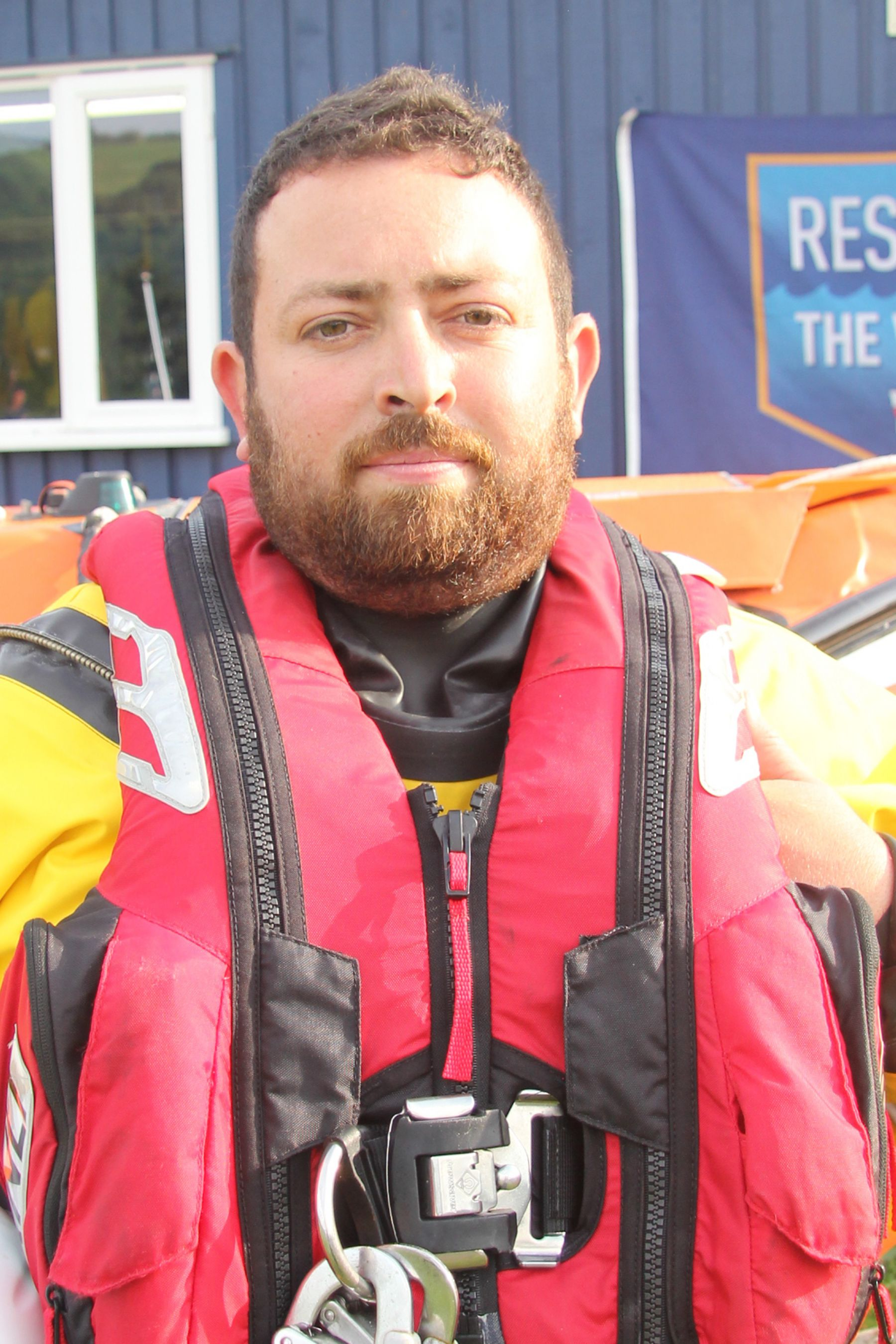 Will Davis. Operations team. RNLI Dart