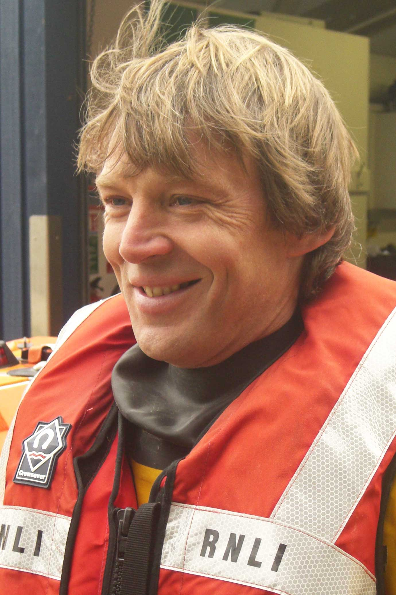 Yorkie Lomas, Operations Team, RNLI Dart